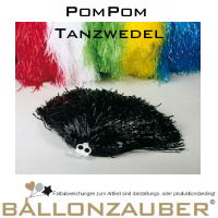 Tanzwedel orange Disco Cheerleader Karneval PomPom 50g