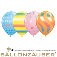 10 Stck. Motivballon Spray Transparent Kunstballon