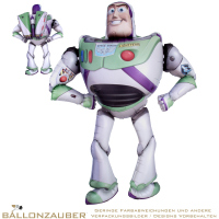 Airwalker laufend Buzz Lightyear Toy Story bunt 134cm = 53inch Ballon