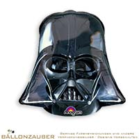 Folienballon Helm Darth Vader Star Wars 63cm = 25inch Ballon Luftballon