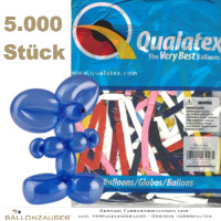 5000 Modellierballons Q260 Traditional Assortment bunt Ø5cm Länge 150cm 60inch