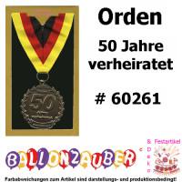 Orden 50 Jahre Verheiratet Goldene Hochzeit Geschenk Prasentiert Von