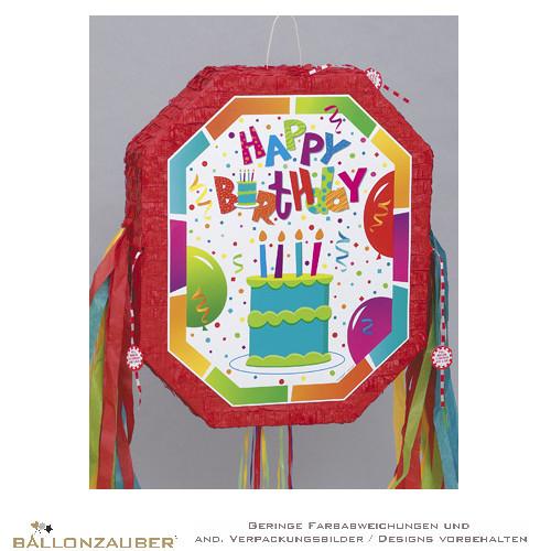 Pinata Pop Out Happy Birthday Cake Uberraschung