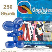 250 Modellierballons Q260 Traditional Assortment bunt Ø5cm Länge 150cm 60inch