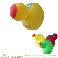Latexballon Figurenballon Nase gross bunt Länge 60cm 24inch Ballon Luftballon